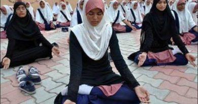 """न्यूज़ टुडे नालंदा -योग को मजहब से जोड़ना गलत""""योग भारत की प्राचीन परंपरा का एक अमूल्य उपहार है ,,,,,"""